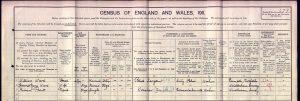 Miriam Pratt 1911 Census